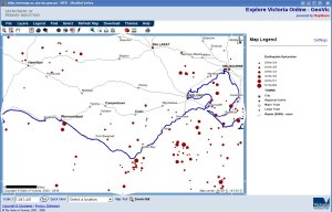 South Western Victoria Earthquake Epicentres
